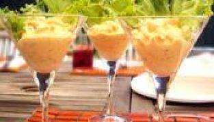 Cocktail di Polpelmo e Granchio