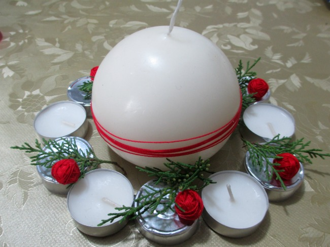 Centrotavola natalizio fai da te - Centrotavola natalizio idee ...