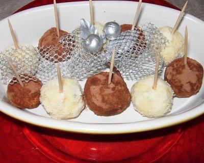 7ac7b41e47ee Tartufi dolci con avanzi di panettone