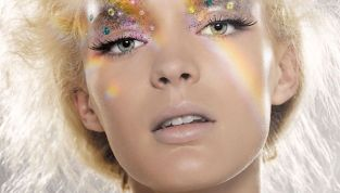 Make up glitter per Capodanno