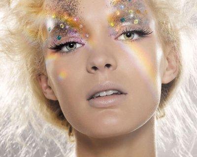 Make up glitter per Capodanno