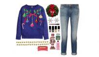 Look della settimana: cozy natalizio