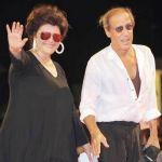 Adriano Celentano e Claudia Mori