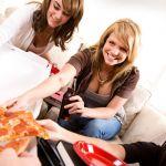 Pizza con amici