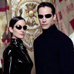 Keanu Reeves e Anne Carrie Moss - Matrix