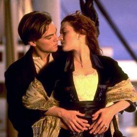 Leonardo Di Caprio e Kate Winslet - Titanic